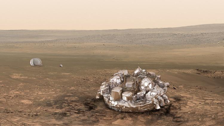 """""""Seis minutos de terror"""": ExoMars realiza el aterrizaje histórico en Marte"""