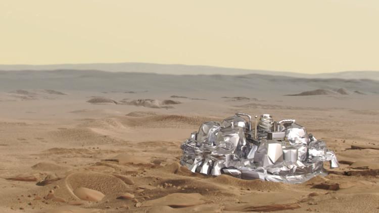 """""""Hemos llegado a Marte"""": la ESA recibe una señal de su sonda"""