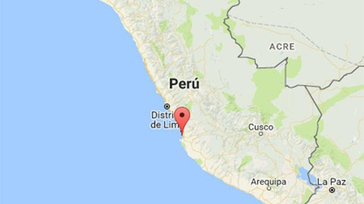 Perú: Un fuerte sismo de magnitud 4,8 sacude Pisco
