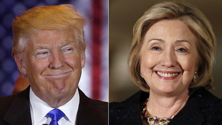 Test: Distinga a Clinton de Trump por sus declaraciones