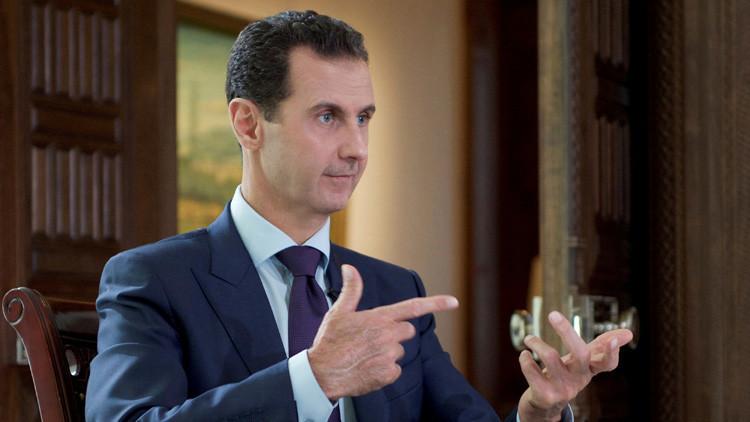 """Al Assad explica el porqué de la """"histeria"""" de Occidente en torno a Alepo"""