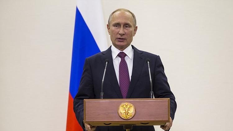Putin señala que Rusia está dispuesta a extender el cese del fuego en Siria
