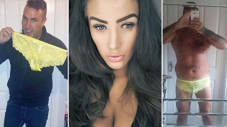 Acosaban a su novia por Facebook y se vengó de una manera muy original