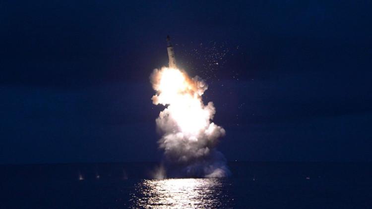 EE.UU. detecta un intento fallido de lanzamiento de un misil balístico por parte de Corea del Norte