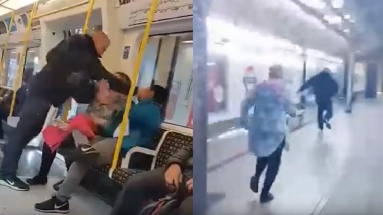 VIDEO: Heroica reacción de una española tras una agresión racista en el metro de Londres