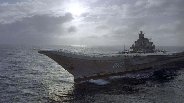 ¿Por qué las maniobras navales rusas del portaaviones Kuznetsov causan tanto revuelo en Occidente?