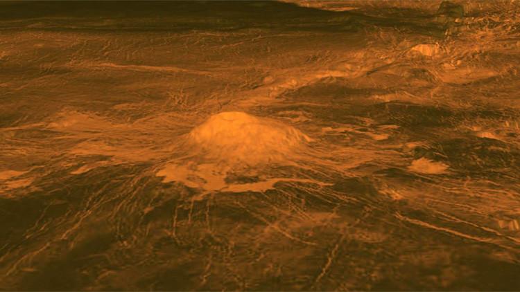Restos de lava: Hallan pruebas de actividad volcánica en Venus