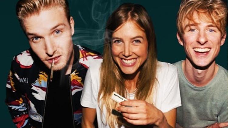 Drogas en vivo: Consumen estupefacientes en nombre de la ciencia y lo divulgan por YouTube