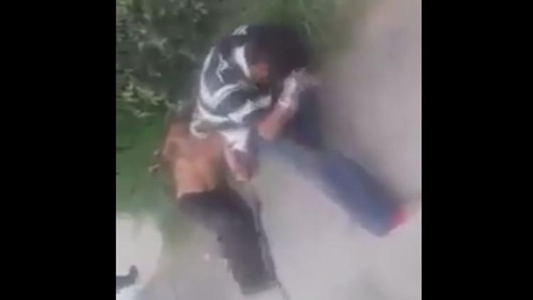 NUEVO VIDEO: Así aparecieron los 'ladrones' que fueron mutilados por el grupo mexicano 'antirratas'