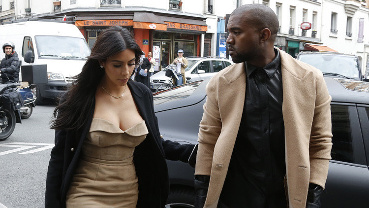 Publican un video del robo millonario a Kim Kardashian en París