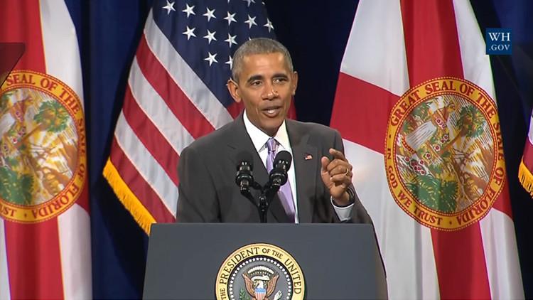 Video: Obama se burla del Galaxy Note 7