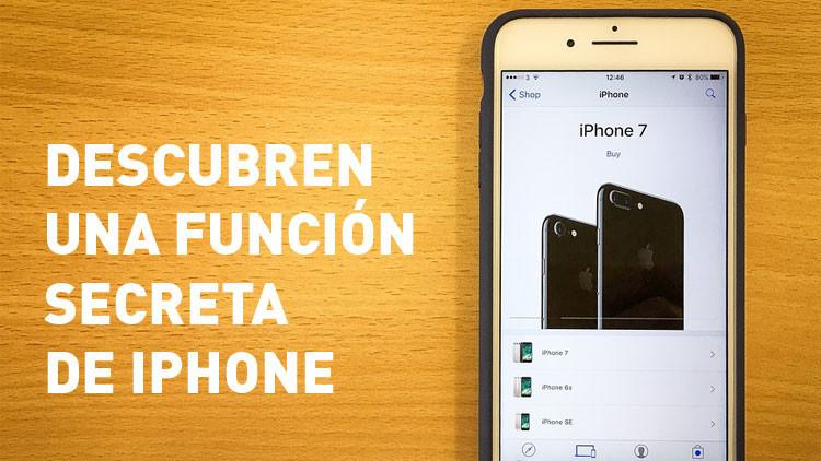 Descubren una función secreta de iPhone que te hará la vida más fácil
