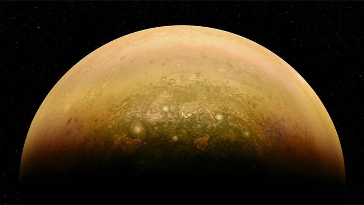 Júpiter 'sonríe' en una curiosa foto de la NASA