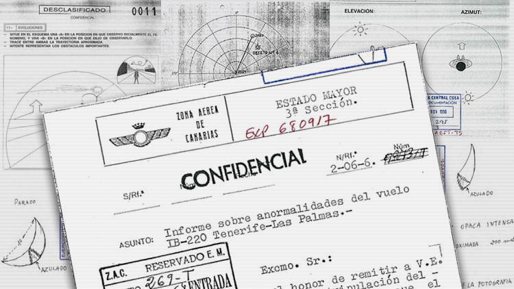 """""""Fenómeno inexplicable"""": Desclasifican 1.900 páginas de 'Expedientes ovni' en España (FOTOS)"""