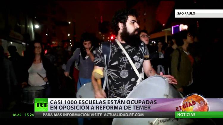 La gestión de Michel Temer provoca una fuerte indignación popular en Brasil
