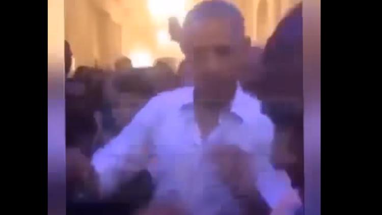"""""""Sí, está sucediendo"""": Obama baila con un famoso rapero en la Casa Blanca"""