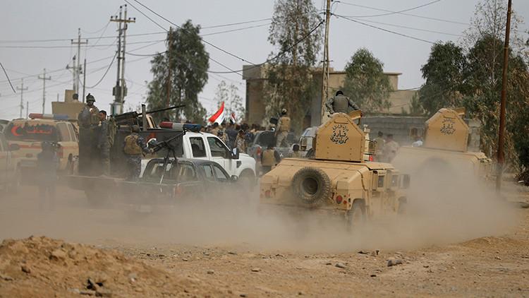 Video: Un yihadista se esconde de los soldados iraquíes en un gallinero