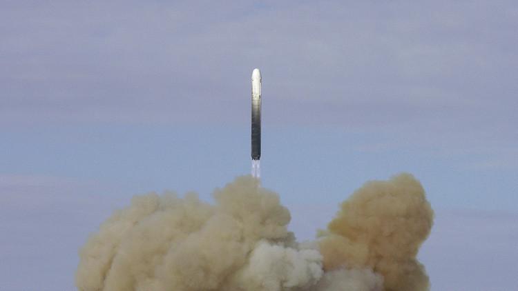 Publican la primera imagen del Sarmat, el más potente misil ruso (FOTO)