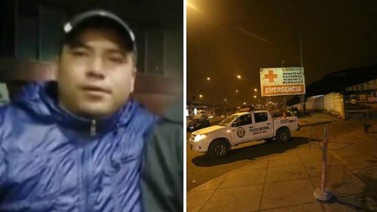 Un grupo de sicarios acribilla a tiros a un hombre en el interior de un hospital de Perú