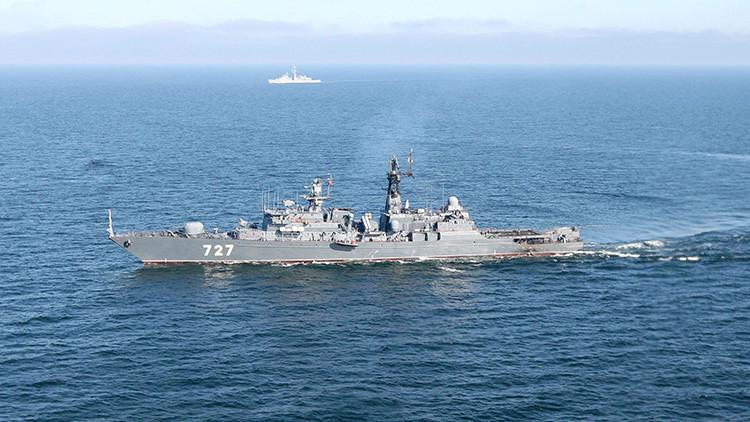 ¿Está España facilitando apoyo logístico a barcos rusos que combaten en Siria?