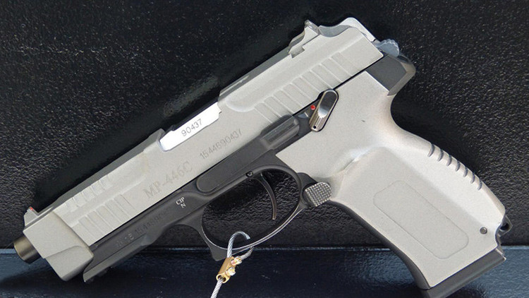 Kaláshnikov presenta una nueva pistola deportiva