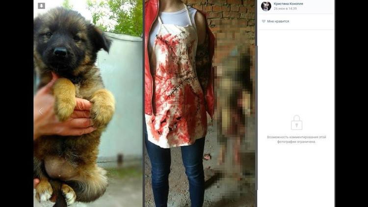 Piden un castigo severo para dos jóvenes rusas que desmembraban animales y lo subían a la Red