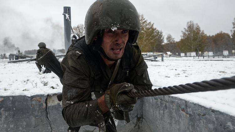 VIDEO: Las fuerzas especiales de Rusia demuestran sus habilidades