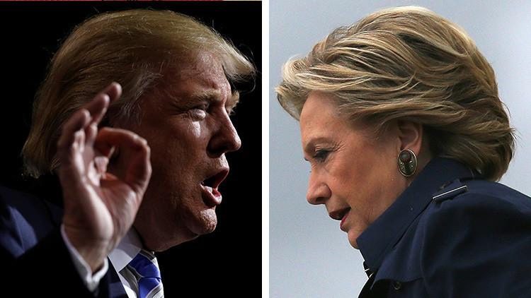 Clinton contra Trump: Los candidatos presidenciales de EE.UU. frente a frente en una infografía