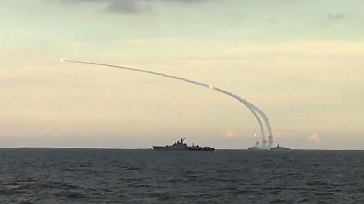 Imágenes inéditas de un misil Granit lanzado desde el portaaviones ruso Admiral Kuznetsov (VIDEO)