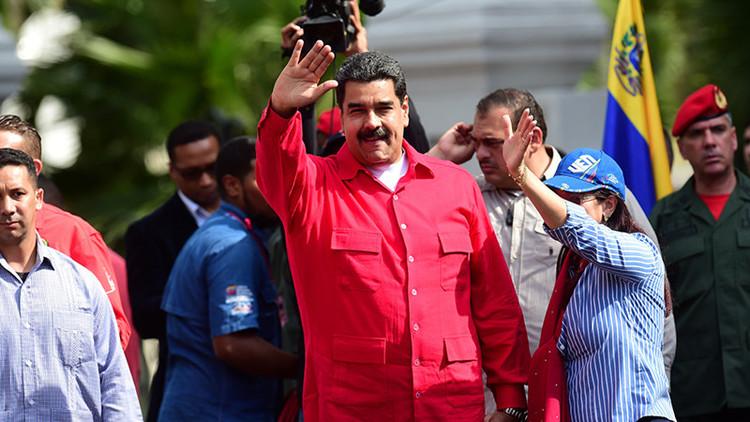 """Maduro: """"Maniobra de la derecha en Venezuela es un coletazo de Obama"""""""