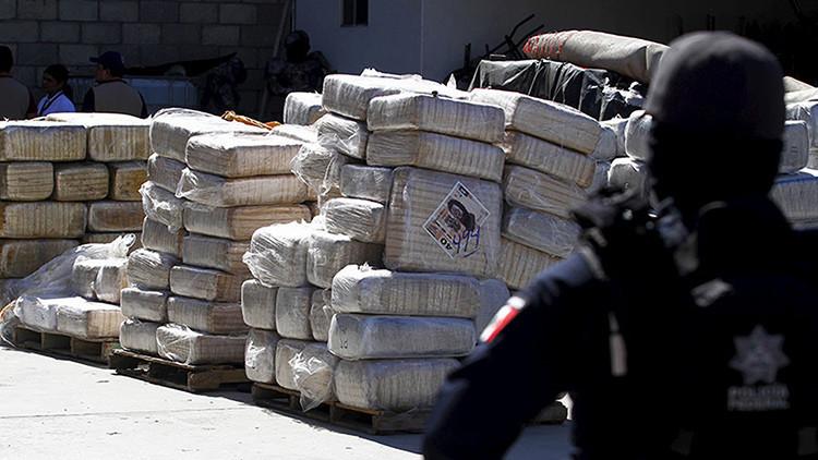 Descubren un túnel para el tráfico de drogas en la frontera entre México y EE.UU.