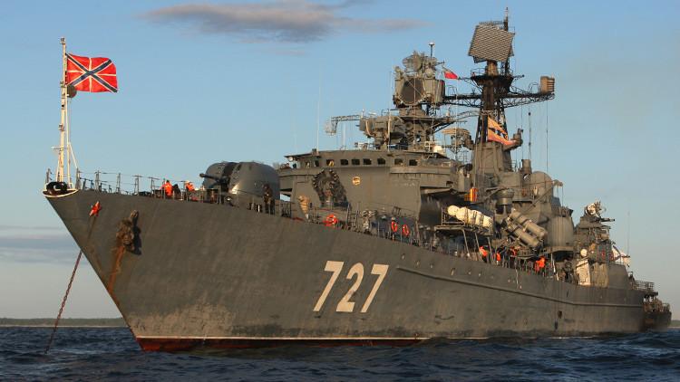 Un buque patrullero ruso 'Yaroslav Mudry'