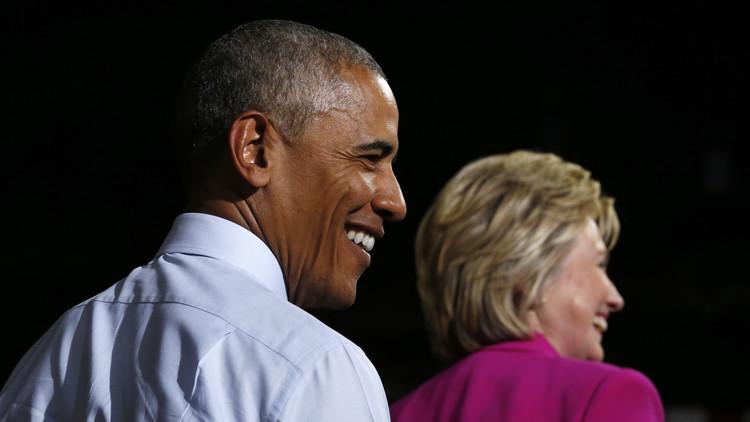WikiLeaks: Obama mintió sobre los correos de Hillary Clinton