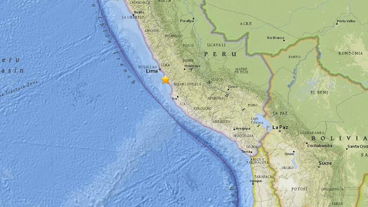 Sismos sacuden Perú y Venezuela