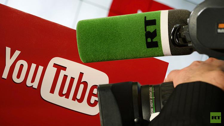 4.000 millones de visitas: RT bate récord entre los canales de noticias en YouTube
