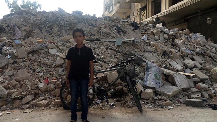 Ataque aéreo contra una escuela siria deja al menos 22 niños muertos