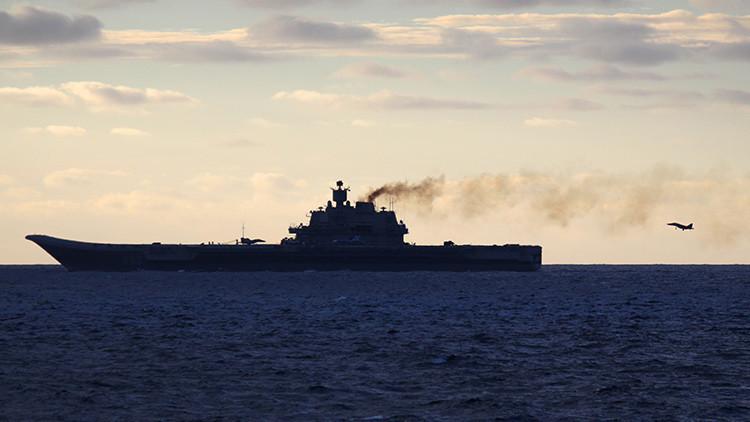 """Moscú: """"La declaración de la OTAN sobre los motivos del envío del portaaviones a Alepo es absurda"""""""
