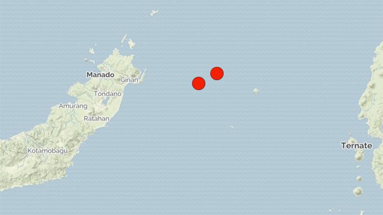 Un serie de fuertes sismos sacuden la costa de Indonesia