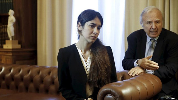El Parlamento europeo premia a dos mujeres yazidíes víctimas del Estado Islámico
