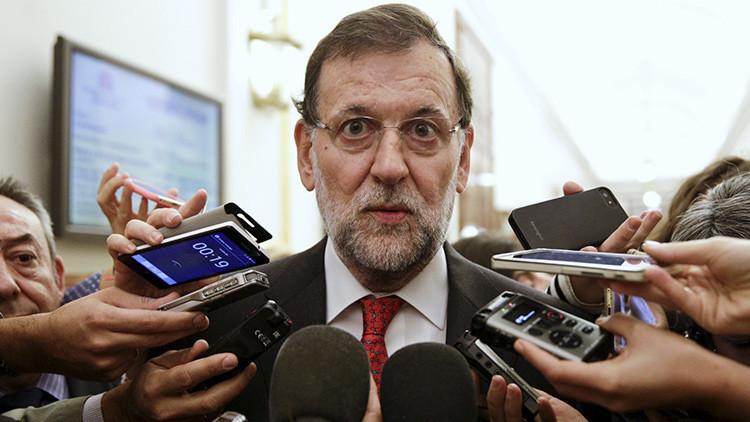 Cuatro mentiras de Rajoy en su discurso de investidura