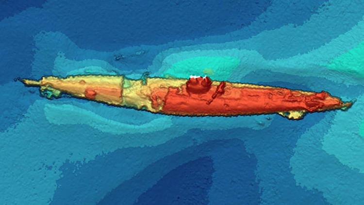 Recuperan el submarino alemán atacado por un 'monstruo marino' en la Primera Guerra Mundial