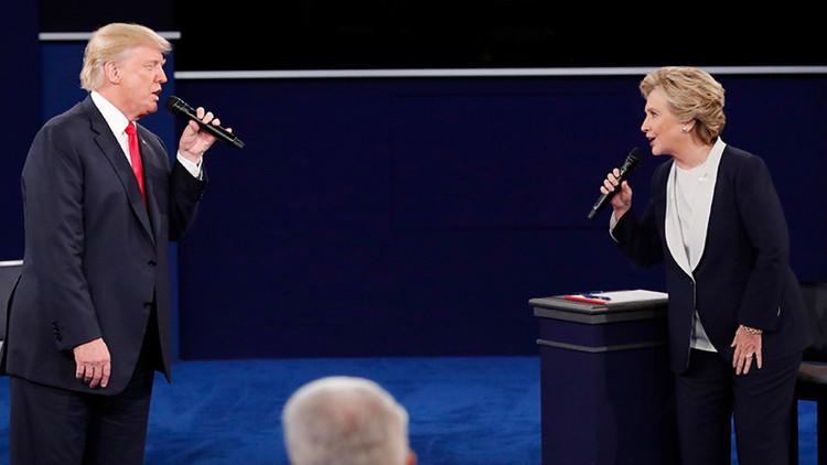 """Trump: """"Las declaraciones de Clinton sobre Putin no son inteligentes"""""""