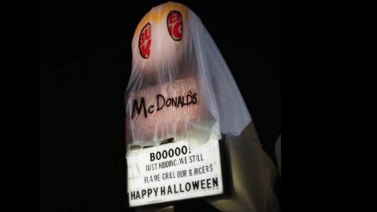¡Feliz Halloween!: Burger King se burla de McDonald's de esta ingeniosa forma (Foto, video)