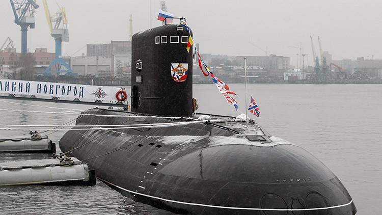 La Armada rusa estrena el imponente submarino Veliki Nóvgorod (VIDEO)