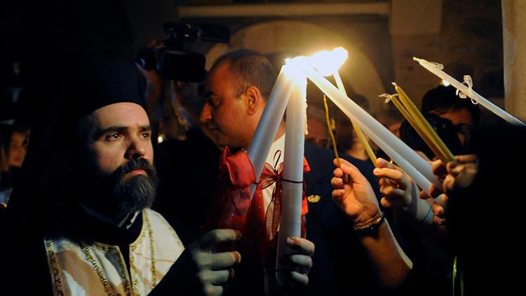El Santo Sepulcro/Visita virtual /Apertura de la Tumba de Cristo 58133499c4618814258b4616
