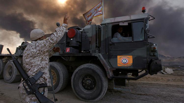 """""""Mosul fue rodeada deliberadamente de tal manera que permite a los terroristas huir a Siria"""""""
