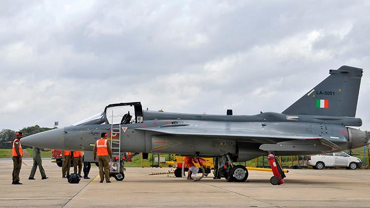 Avión de combate ligero de la India, HAL Tejas.
