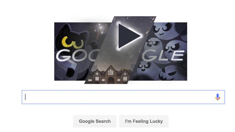 Así se juega al doodle de Google — Halloween