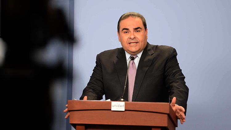 El expresidente salvadoreño Elías Antonio Saca .