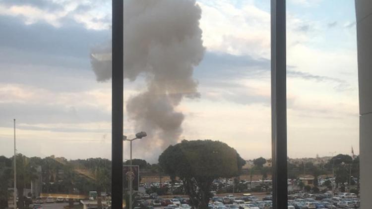 Una explosión sacude los alrededores del aeropuerto de Malta (VIDEO)